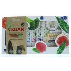 7DAYS Geschenkverpakking go vegan gezichtsmasker (1 stuks)