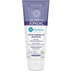 Jonzac Rehydrate zachte gezichtsscrubgel met parels (75 ml)