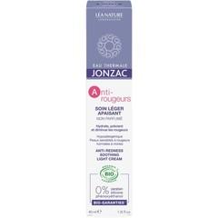 Jonzac Anti roodheid verzachtende creme lichte textuur (40 ml)