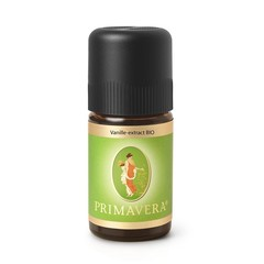Primavera Vanille-extract bio (5 ml)