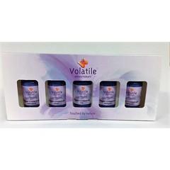 Volatile Cadeauverpakking sauna opgiet 5 x 30 ml (1 set)