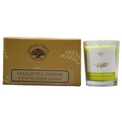 Green Tree Geurkaars delightful jasmine votive (55 gram)