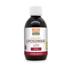 Mattisson Aquasome liposomaal ijzer 20 mg citrussmaak (250 ml)
