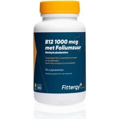 Fittergy B12 1000 mcg methylcobalamine (90 zuigtabletten)