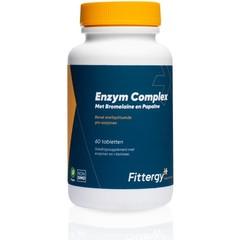 Fittergy Enzym complex bromelaine en papaine (60 tabletten)