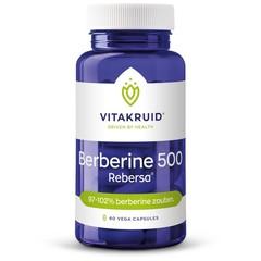 Vitakruid Berberine 500 Rebersa? 97-102% berberine zouten (60 vcaps)
