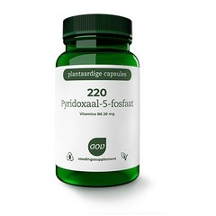 AOV 220 Pyridoxaal - 5 fosfaat (60 vcaps)