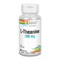 Solaray L-Theanine 200 mg (90 vcaps)