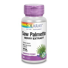 Solaray Serenoa zaagpalm besextract 160 mg (60 softgels)
