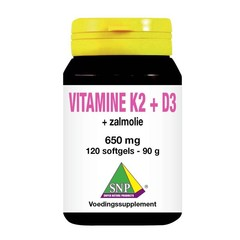 SNP Vitamine K2 D3 zalmolie (120 capsules)