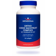 Orthovitaal Ortho goede nachtrust complex (120 softgels)