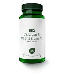 AOV 552 Calcium & magnesium AC (60 tabletten)