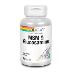 Solaray MSM & Glucosamine (90 vcaps)