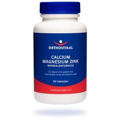 Orthovitaal Calcium magnesium zink (60 tabletten)