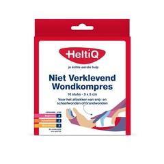 Heltiq Wondkompres 5 x 5 niet verklevend (10 stuks)