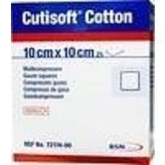 Cutisoft Cotton niet steriel 10 x 10 cm (100 stuks)