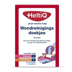 Heltiq Wondreinigingsdoekjes (10 stuks)