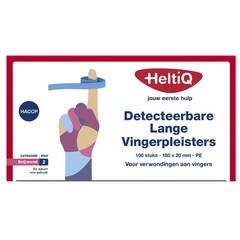 Heltiq Detect vingerpleister lang PE 180 x 20 (100 stuks)