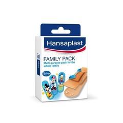 Hansaplast Familiepak strips (40 stuks)