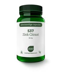 AOV 537 Zink citraat 25 mg (90 vcaps)