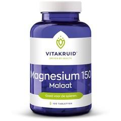 Vitakruid Magnesium 150 malaat (100 tabletten)