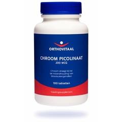 Orthovitaal Chroom picolinaat (100 tabletten)