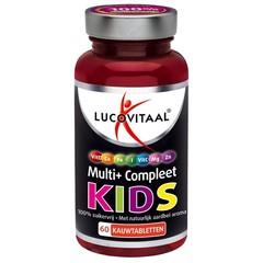 Lucovitaal Multi+ compleet kids (60 kauwtabletten)
