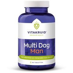 Vitakruid Multi dag man (90 tabletten)