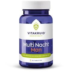 Vitakruid Multi nacht man (30 tabletten)