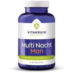 Vitakruid Multi nacht man (90 tabletten)