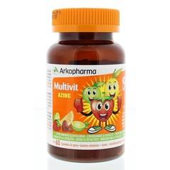 Azinc Multi vitamine fruitgum (60 stuks)