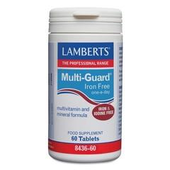 Lamberts Multi guard ijzervrij (60 tabletten)