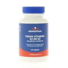 Orthovitaal Vitamine K2 & D3 vegan (60 vcaps)