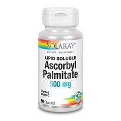 Solaray Vitamine C ascorbylpalmitaat (60 capsules)