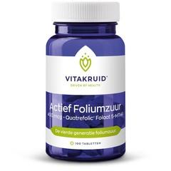 Vitakruid Actief foliumzuur 400 mcg ()