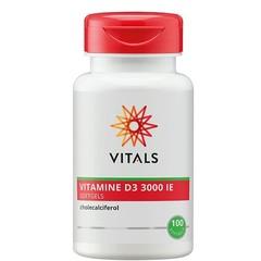Vitals Vitamine D3 3000IE (100 softgels)