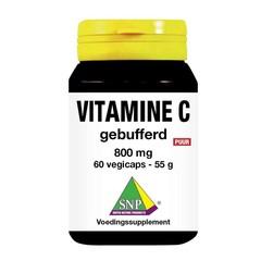 SNP Vitamine C 800 mg gebufferd puur (60 vcaps)