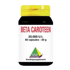 SNP Beta caroteen 25000IU (60 capsules)