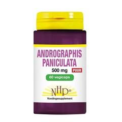 NHP Andrographis paniculata 500 mg puur (60 vcaps)