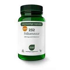 AOV 232 Foliumzuur 400 mcg (60 vcaps)