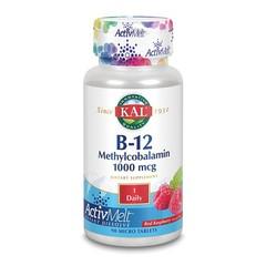 KAL Vitamine B12 1000 mcg methylcobalamine ActivMelt (90 microtabletten)