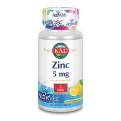KAL Zink 5 mg citroen ActivMelt (60 microtabletten)