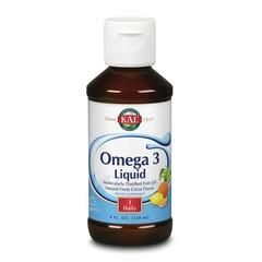 KAL Omega 3 1200/800 vloeibaar citrus (120 ml)