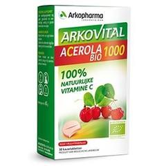 Arkopharma Acerola 1000 bio (30 kauwtabletten)
