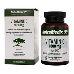 Nutramedix Vitamine C 1000 mg non-GMO (120 capsules)