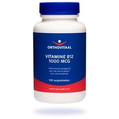 Orthovitaal Vitamine B12 1000 mcg (100 zuigtabletten)