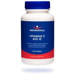 Orthovitaal Vitamine E 400IE (100 softgels)