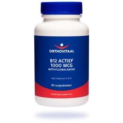 Orthovitaal B12 Actief 1000 mcg (60 zuigtabletten)