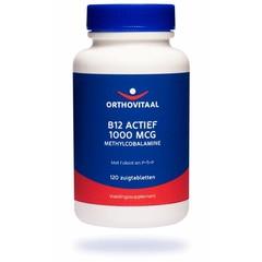 Orthovitaal B12 Actief 1000 mcg (120 zuigtabletten)