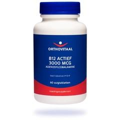 Orthovitaal B12 Actief 3000 mcg (60 zuigtabletten)
